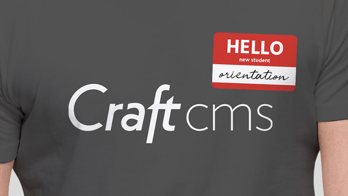 Welcome To Craft Cms Orientation Guide