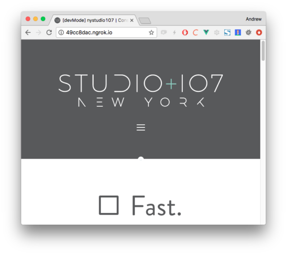 nystudio107 | Mobile Testing & Local Dev Sharing with Homestead